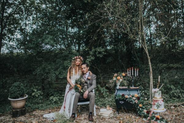 Ophelia, wedding flowers