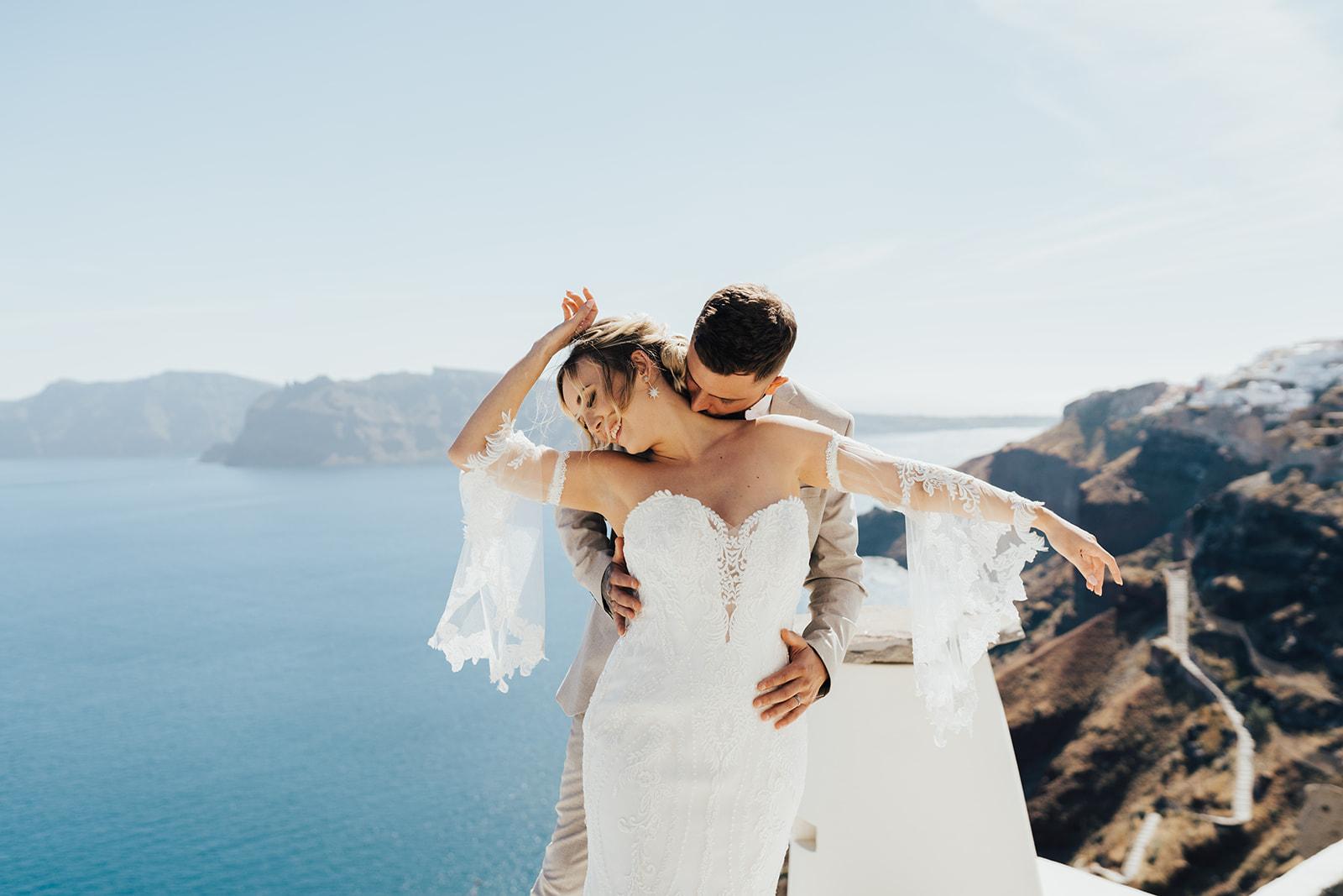 Beach Elopement Wedding