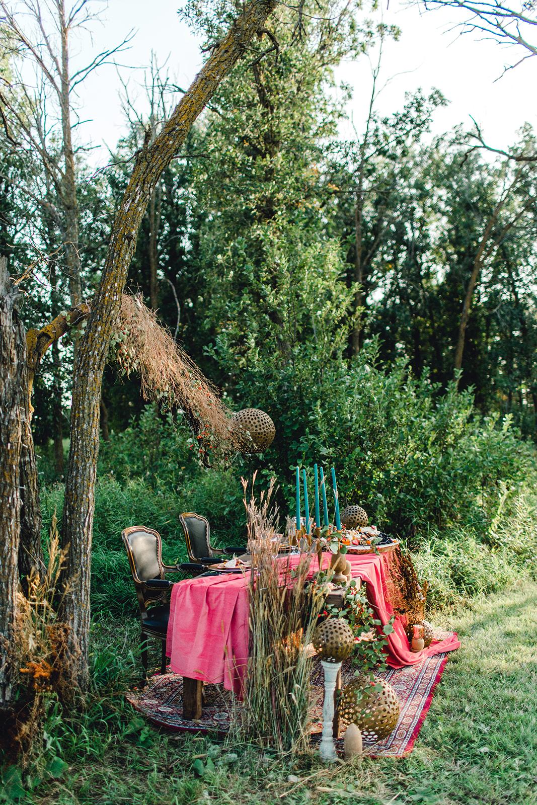 Autumnal Woodland Wedding
