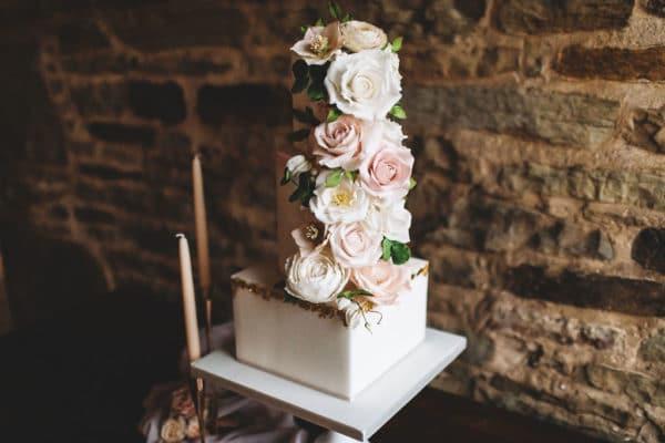 A Floral Barn Wedding Shoot